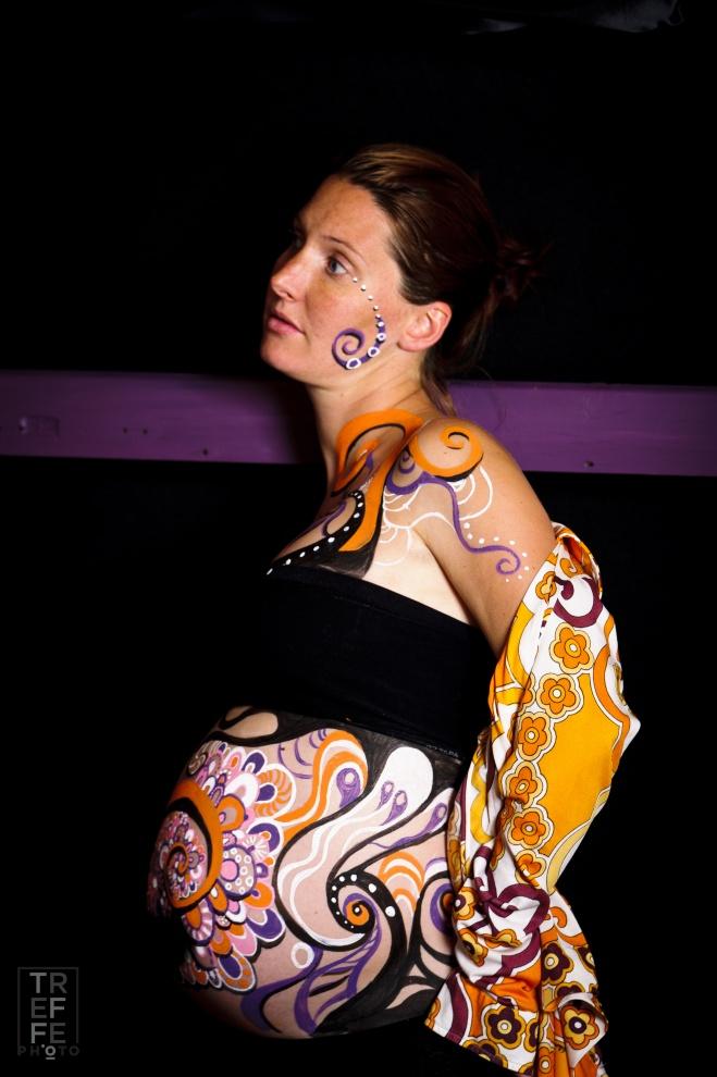 REAL PREGNANT ART
