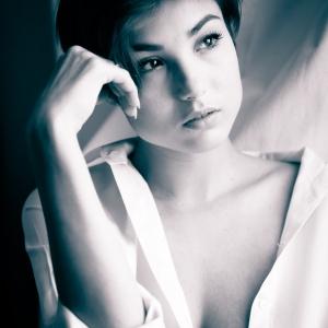 Giorgia Portrait BN