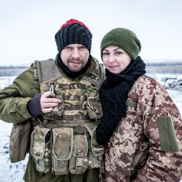 Donbas, Ukraine (2018). Anton and Juliya's wedding