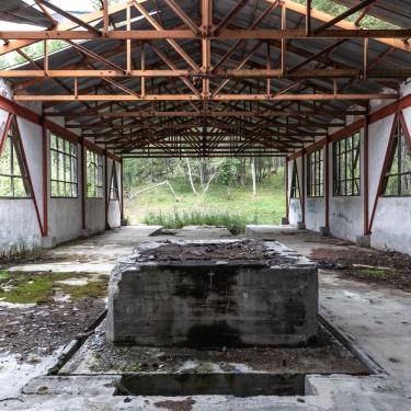 Valsusa, Italy (2019). The ghost village of Pian Gelassa