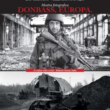 Ukraine: the border of truth - Naples (Italy) - 2019