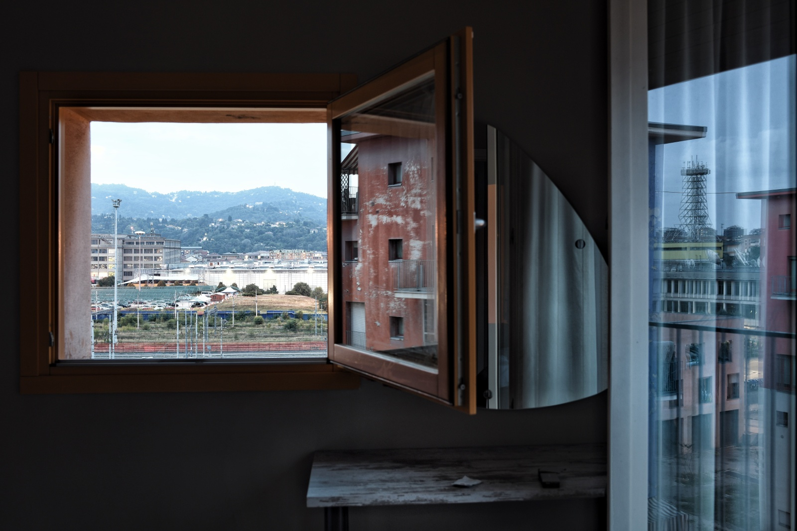 Turin, Italy, 2018. Clearance of squatters from the Olympic village