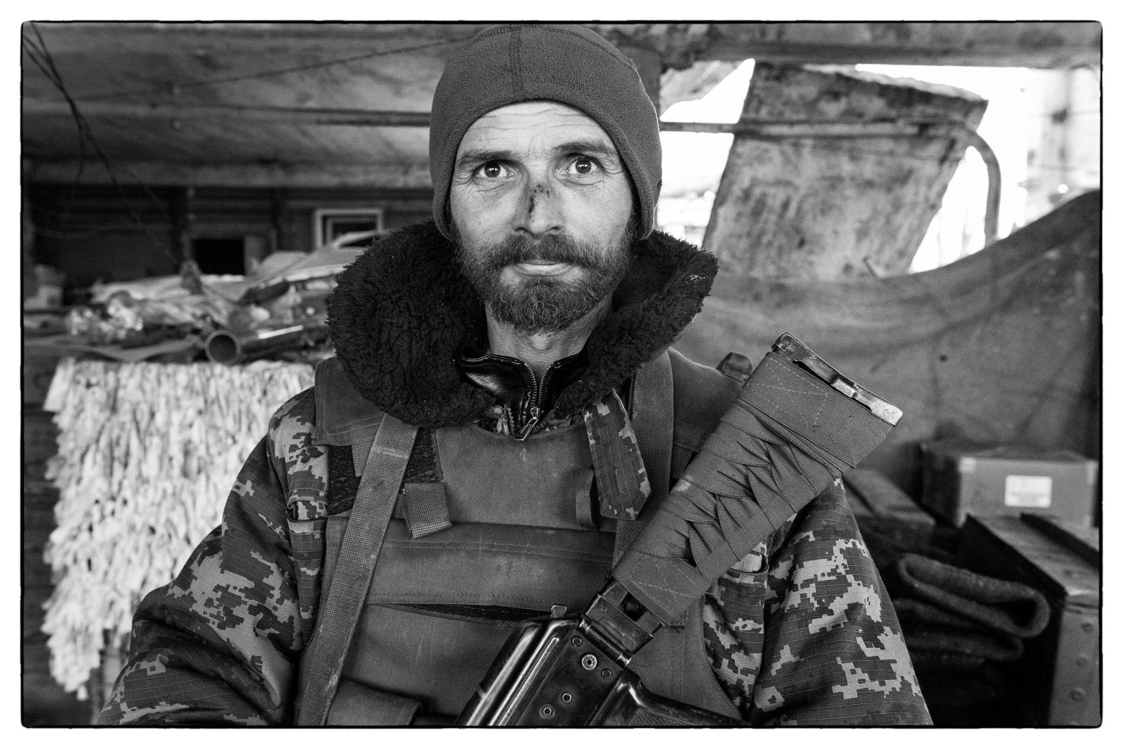 Donbass, Ukraine (2017). The Russian siege of Avdiivka