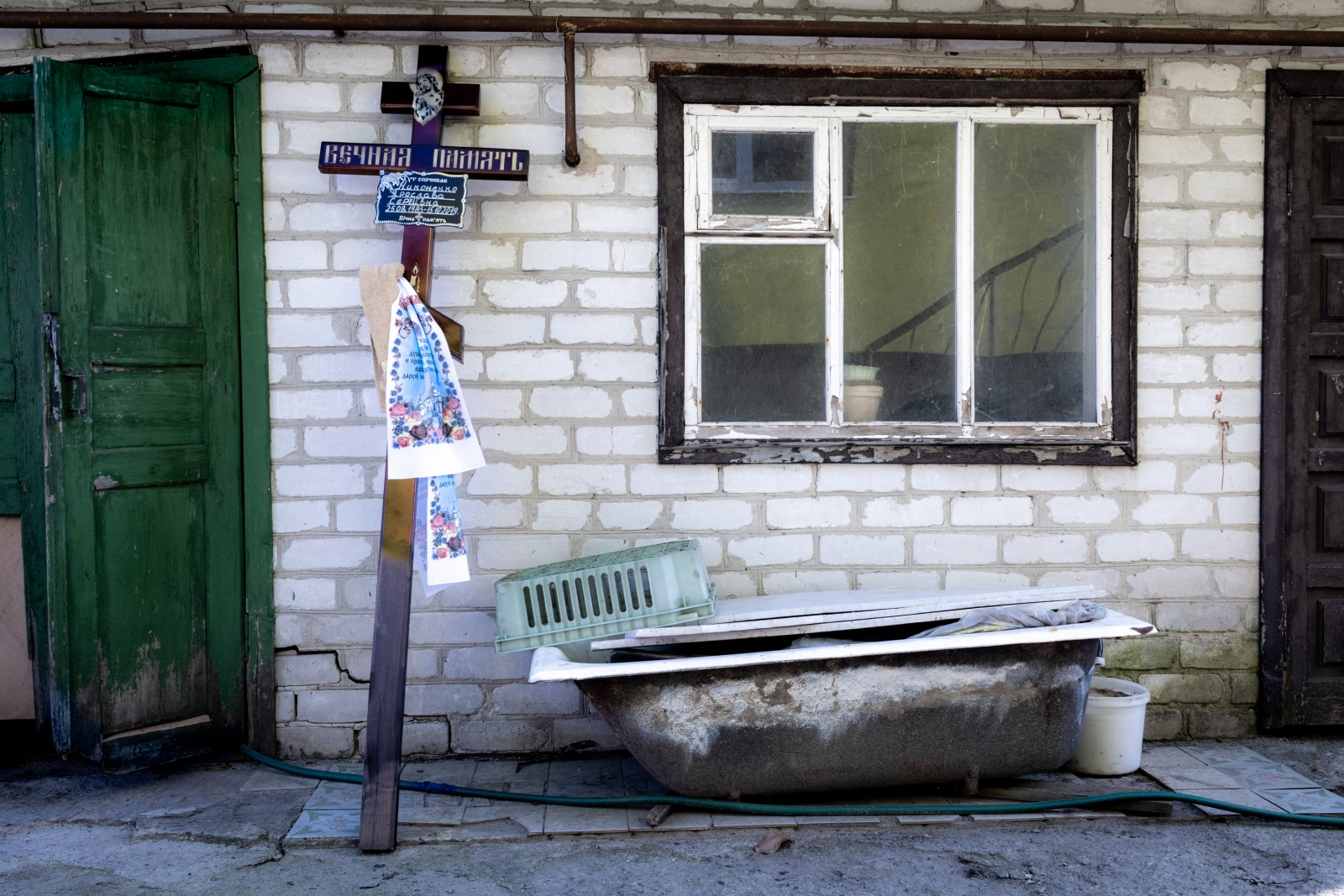 Myrhorod, Ukraine (2019). The funeral of Yaroslava Nykonenk, killed by a prorussian sniper in the Donbass
