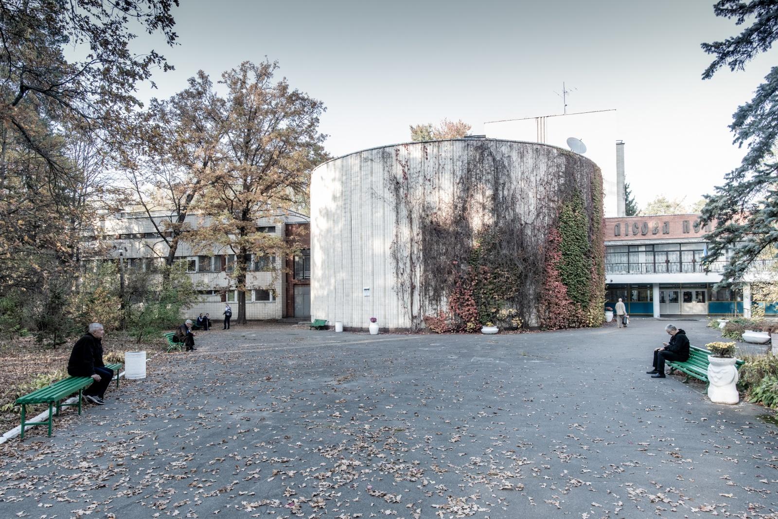 Puscha Voditsa, Ukraine (2019). The veterans hospital